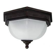 Fairford lampa sufitowa łazienkowa 2x40W E27 230V postarzały brąz