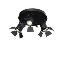 Ciak kinkiet / plafon / reflektor 3x50W GU10 czarny