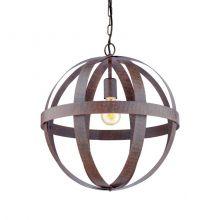 Westbury lampa wisząca 45cm 1x60W E27 230V rdzawa