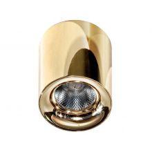 Mane lampa sufitowa 10W LED 3000K 230V złota