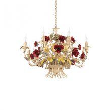 Camilla lampa wisząca żyrandol 8x40W E14 230V
