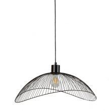 Nunez lampa wisząca czarna matowa 1x40W E27