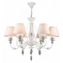 Adelia żyrandol lampa wisząca 6x40W E14 230V biały
