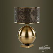 Abazurowe kia lampa stolowa 1x60W E27 platyna