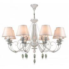 Adelia żyrandol lampa wisząca 8x40W E14 230V biały