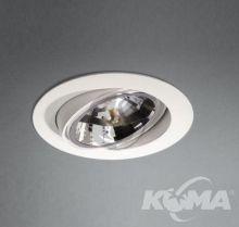 Savio lampa sufitowa 1x50W G53 12V biała