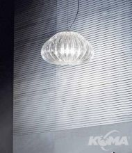 Diamante oprawa wiszaca E27/100W transparentna