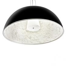 Decora M lampa wisząca 1x60W E27 230V czarna