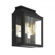 Soncino kinkiet zewnętrzny 2x60W E27 230V czarny