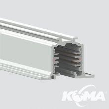 Szynoprzewód 1 metry 230V wpuszczany biały