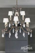 Versalles lampa wisząca 9x60W/E14