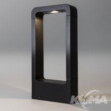 Napier 300 lampa stojąca zewnętrzna 1x8,7W led czarna 3000K