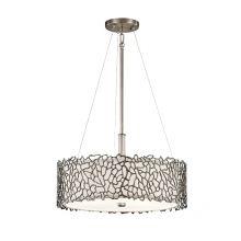 Silver Coral lampa wisząca 3x100W E27 230V