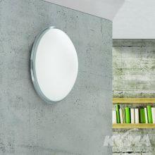 Glanto plafon łazienkowy 9W LED 3000K 230V satynowany chrom