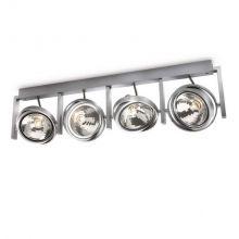 Fast lampa sufitowa 4x60W G9 230V aluminium