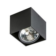 Alex lampa sufitowa 1x50W QR111 12V czarna
