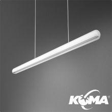 Equilibra lampa wisząca 92cm. 13W LED 230V biała (połysk)