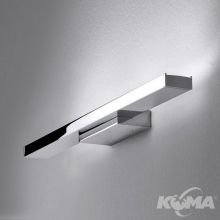 Gil kinkiet 2x4.4W LED 230V chrom