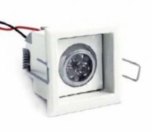 Kiral 3 led 630 ma 6W power multichip IP40 15st biala, biala ciepla