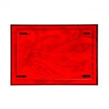 Dune tacka 46x32x2,5cm czerwona