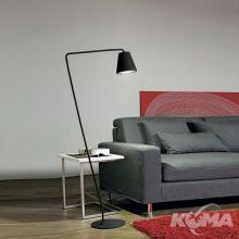Conus lampa podłogowa 7W LED 3000K 230V czarna