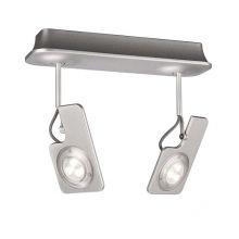 Hava lampa sufitowa reflektor 2x7,5W LED 230V aluminium