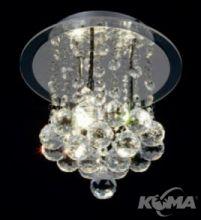 Plafon cristal 3xg9/40W
