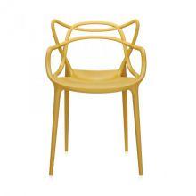 Masters krzesło 57x84x47cm musztardowe