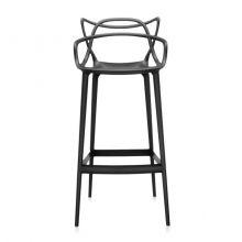 Masters krzesło hoker 109x49x52cm czarne
