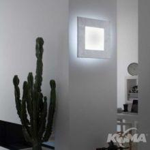 Tara kinkiet/plafon 1x22W T5 42x42cm srebrny