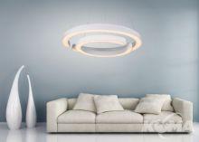 AURA lampa wisząca 1x35W + 1x52W LED d85cm biały