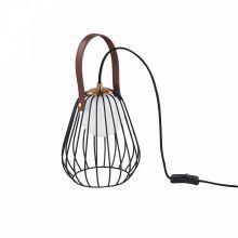 Indiana lampa stołowa 1x28W G9 230V czarna