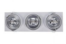 Siro 3 lampa techniczna aluminiowy 3x50W qe111