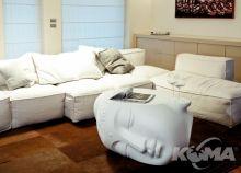 Pacifico stol/lawa l101.5cm nude white