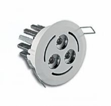 Baffita 3 led 630 ma 6W power multichip IP30 10st biala, biala ciepla