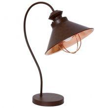 Loft Chocolate lampa stołowa 1x60W E27 230V brąz