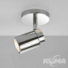 Como reflektor łazienkowy 1x35W GU10 230V chrom