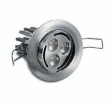Bascon 3 led 630 ma 6W power multichip IP30 10st nikiel, biala ciepla