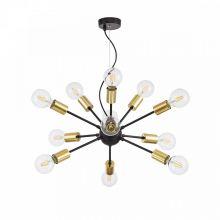 Jackson lampa wisząca 12x7W E27 230V czarna