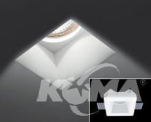 Sd 081 n f oprawa wpuszczana 1x50W g5.3 biały
