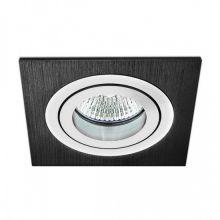 Mini Catli lampa wpuszczana 1x50W GU5.3 12V aluminium szczotkowane czarne