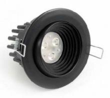 Illum 3 leds 630 ma 6W power multichip 15st IP45 czarna, biala ciepla