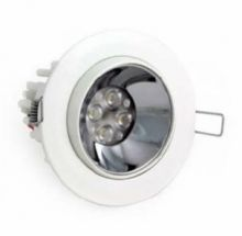 Lumil chrome 4 leds 630 ma 8W power multichip 15st IP40 biala, biala ciepla