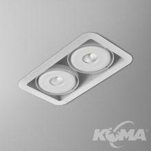 IForm oprawa wpuszczana 12,5W LED 3000K 230V biały mat