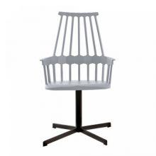 Comback krzeslo 58x100x50cm obrotowe szaroniebieski
