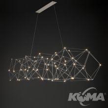 Cosmos lampa wisząca 70x0,6W LED 2700K 230V nikiel