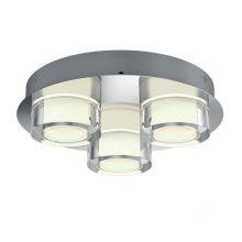 Resort lampa sufitowa łazienkowa 3x4,5W LED 230V chrom