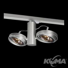 Optique A21 SP3 reflektor do szynoprzewodu G53 2x50W C01 - aluminium