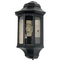 Newbury kinkiet zewnętrzny 1x60W E27 230V czarny
