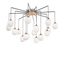 Rhapsody sp16 lampa wisząca 16x28W G9 czarna